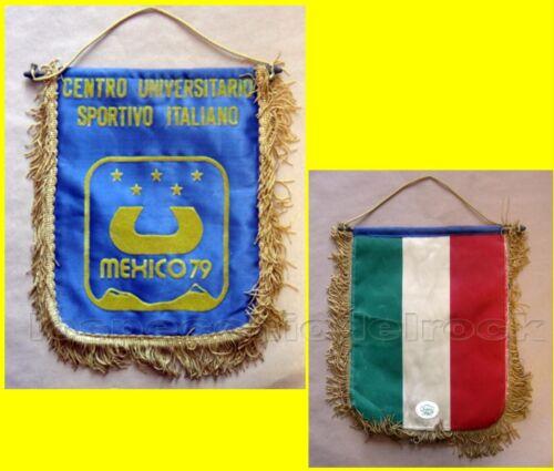 Gagliardetto: Centro Universitario Sportivo italiano Mexizo 79