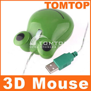 New-1000dpi-Green-Frog-3D-Optical-Mouse-for-PC-Laptop