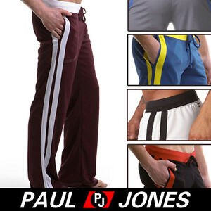 Super-Soft-Mens-Sports-Pants-GYM-Long-Pants-Trousers-5Color-S-M-L-100-Polyester
