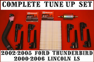 how to change ignition coil lincoln ls v8