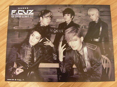 F.CUZ - FOR CENTURY ULTIMATE ZEST (TYPE A) [ORIGINAL POSTER] K-POP *NEW*