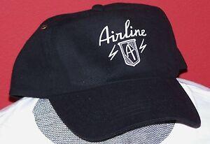 VINTAGE AIRLINE GUITAR BASEBALL CAP