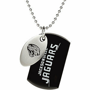 Jacksonville-JAGUARS-Football-Team-Logo-Double-Dog-Tag-Necklace-Stainless-Steel
