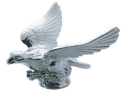 Chrome Eagle Illuminated Hood Ornament Peterbilt Freightliner Kenworth Semi