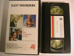 M78-VHS-TAPE-Phil-Donahue-Show-SLEEP-DISORDERS-1988