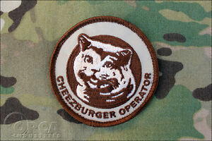 Cheezburger-Operator-Happy-Cat-Morale-Patch-Desert-Velcro-Backed