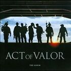 Act of Valor: The Album [Original Soundtrack] by Original Soundtrack (CD, Feb-2012, Relativity (Label))