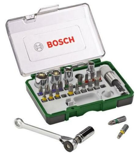 Boat, Bike, Car – MUST HAVE! Bosch 2607017160 Screwdriving Set with Mini Ratchet