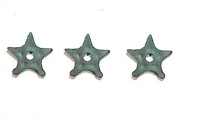"""Ninja Throwing Stars (3)- 1:18 Scale Weapons for 3-3/4"""" Action Figures"""