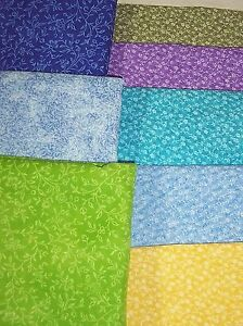 CALICO-100-cotton-fabric-tiny-flowers-and-tiniest-flowers-group-4