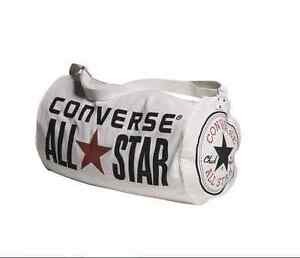 NEW-CONVERSE-ALL-STAR-WHITE-CANVAS-RETRO-HOLDALL-BAG-TRAINERS-MENS-WOMENS-UNISEX