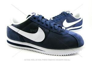 Nike-Cortez-Nylon-SNEAKERS-NAVY-WHITE-317249-413-Classic-Men