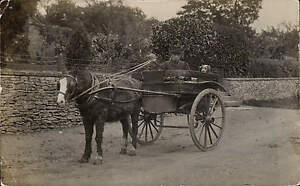 Witcombe-near-Brockworth-written-Cheltenham-posted-Horse-amp-Cart