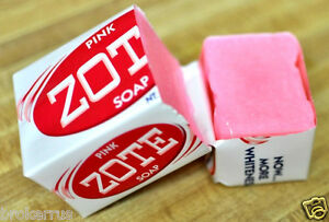 Pink Zote Laundry Bar Soap Clothes Whitener Brightener
