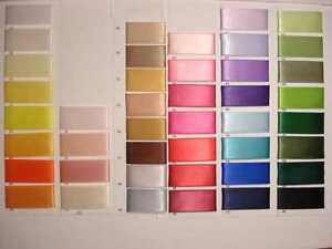 5-metres-of-2-50mm-wide-Double-Satin-Ribbon-Choice-of-Many-Colour