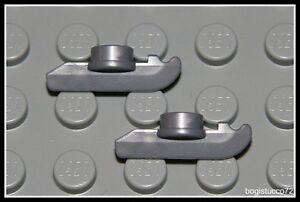 Lego-Sports-x2-Gray-Ice-Skates-Pair-Hockey-Boy-Girl-Minifigure-NEW