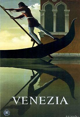 """TT79 Vintage Venezia Venice Italy Italian Travel Poster A3 17""""x12"""""""