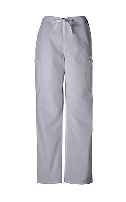 Scrubs Cherokee Workwear Mens Cargo Pant 4000 Grey   FREE SHIPPING!