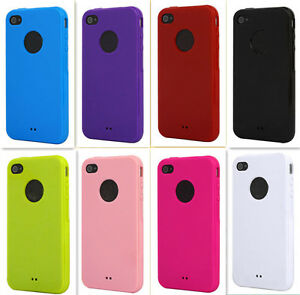 Soft-Tpu-Rubber-Skin-Case-Cover-For-iphone-4-4s-colors-change
