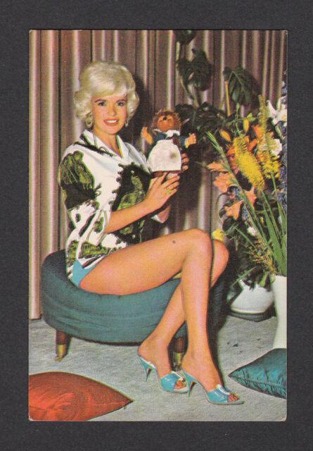Jayne Mansfield 1960s Gum Card from Europe #16 Blonde
