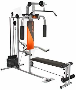 V-Fit Herculean LFG2 Lay Flat Home Multi Gym - r.r.p £330 ...