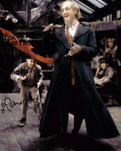 Ron-Moody-as-Fagin-SIGNED-Autograph-10x8-Photo-AFTAL-COA-with-RARE-Inscription
