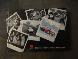 2000 saturn s series owners manual ebay rh ebay com Saturn Repair Manual Saturn Ion Owner's Manual