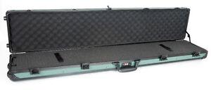 Multipurpose-Long-Metal-Transport-Flight-Case-in-Green-Rifle-Shot-Gun-MF037GRN