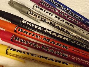 Dykem Brite Mark_Paint Marker_Valve Action_Fine Point >>> ORANGE