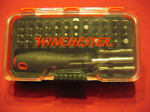 winchester 51 pc gunsmith screwdriver set chapman grace ebay. Black Bedroom Furniture Sets. Home Design Ideas