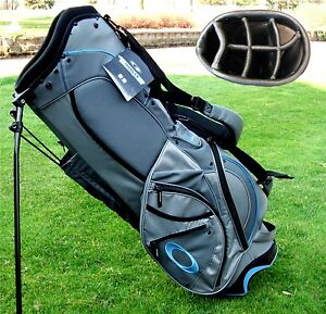 NEW-Oakley-Banger-Stand-Carry-Golf-Bag-Sheet-Metal-7-way-Top-MSRP-150