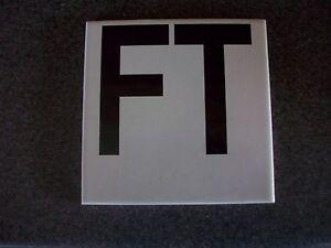 Swimming Pool Tile Depth Marker Ft Ceremic Skid Resistant New Ebay