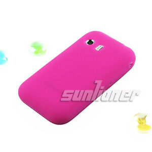 Hot-Pink-color-soft-Silicone-Case-Skin-Cover-for-Samsung-S5360-Galaxy-Y