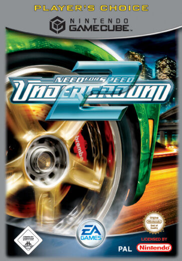 need for speed underground 2 nintendo gamecube 2005 dvd box g nstig kaufen ebay. Black Bedroom Furniture Sets. Home Design Ideas