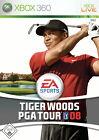 Tiger Woods PGA Tour 08 (Microsoft Xbox 360, 2007, DVD-Box)
