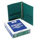 "Esselte Ess-57756 Twin Pocket Portfolio With Fasteners - Letter 8.5"" X"