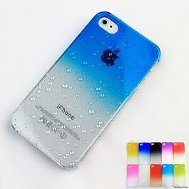 3D-Water-Drop-Dripping-Ultra-Thin-Hard-Case-Cover-For-iPhone-4S-4-Azure-Blue