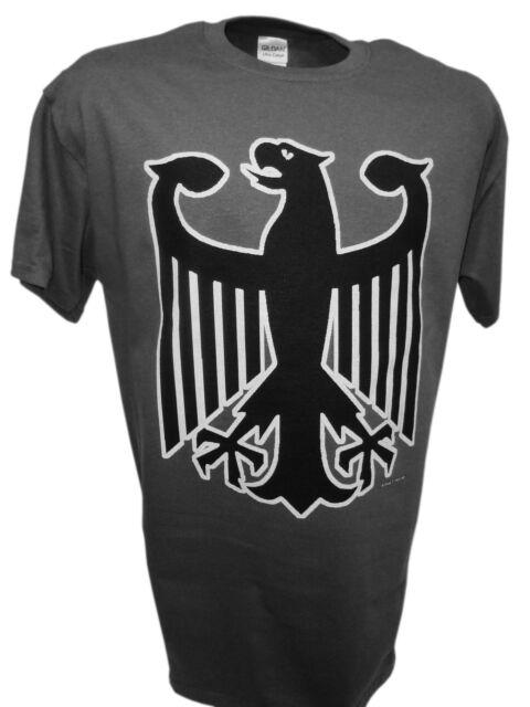 German Eagle Crest Deutschland Germany Flag Logo Ww2 Panzer Tank Mg42 T Shirt