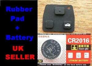 for-Toyota-2-Button-3-Button-key-RUBBER-PAD-Repair-Corolla-Yaris-Avensis-RAV4
