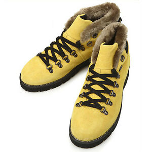 New-Leather-Winter-Snow-Casual-Athletic-Warm-Mens-Ankle-Boots-Yellow