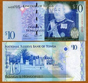 Tonga-Kingdom-10-Pa-039-anga-2008-2009-P-40-A-prefix-UNC
