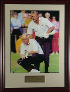 Arnold-Palmer-amp-Jack-Nicklaus-1971-Ryder-Cup-Framed-Golf-Photo-11x14-OR-16x20