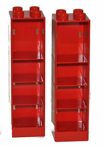 lego duplo 2x m bel schrank regal rot neu ebay. Black Bedroom Furniture Sets. Home Design Ideas
