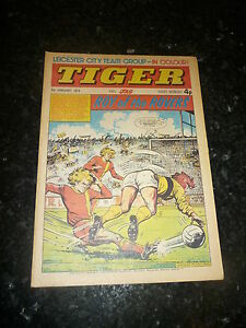 TIGER-JAG-Year-1974-Date-09-02-1974-Inc-Leicester-City-Team-Poster