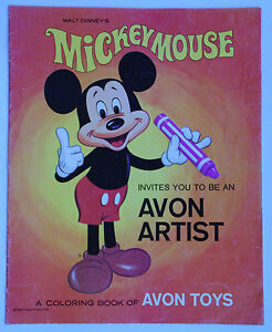 Walt-Disney-039-s-Mickey-Mouse-Invites-You-To-Be-An-Avon-Artist-Coloring-Book-1969