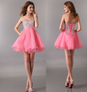 Unique Princess Prom Gown Luxury Short bodice Cocktail Evening ...