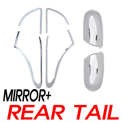 Chrome Side Mirror&Rear Tail Cover LED For 07 08 09 10 11 Hyundai Veracruz ix55