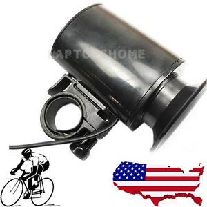 New-6-Sounds-Electronic-Bike-Bell-Black-Bicycle-Alarm-Siren-Horn-Loud-Waterproof