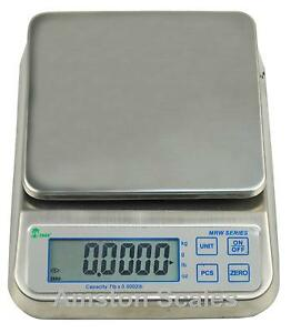 16-5-LB-DIGITAL-SCALE-FOOD-KITCHEN-WATERPROOF-WASHDOWN-ENGINE-BALANCE-STAINLESS