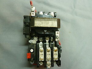 General electric cr308b6 dftd motor starter size 0 for General electric motor starters